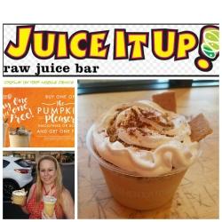 Juice It Up, Pumpkin pleasers, pumpkin smoothie, holiday juices