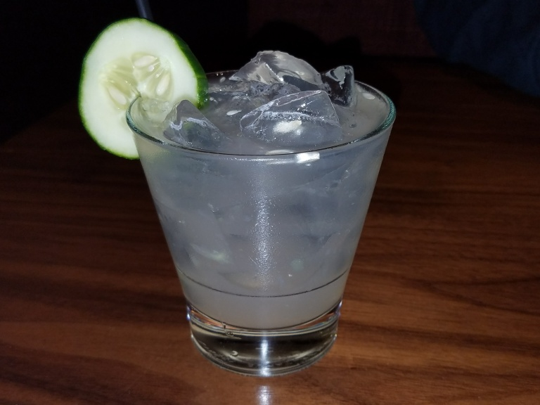 Cucumber Cooler Cocktail - Jimmy's Famous American Tavern Brea