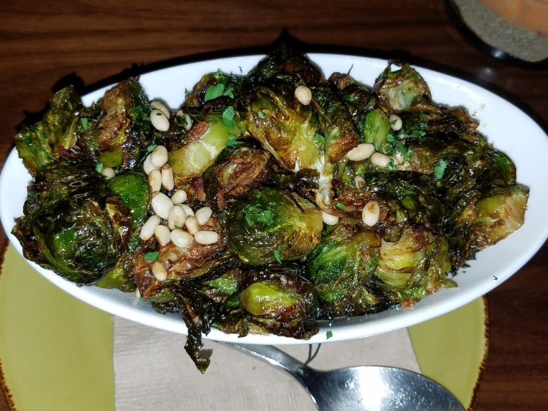 Charred Brussels Sprouts - Jimmy's Famous American Tavern