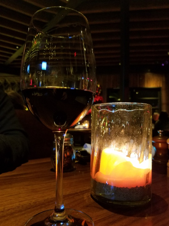 Textbook Merlot from Napa Valley - Jimmy's Famous American Tavern - Brea