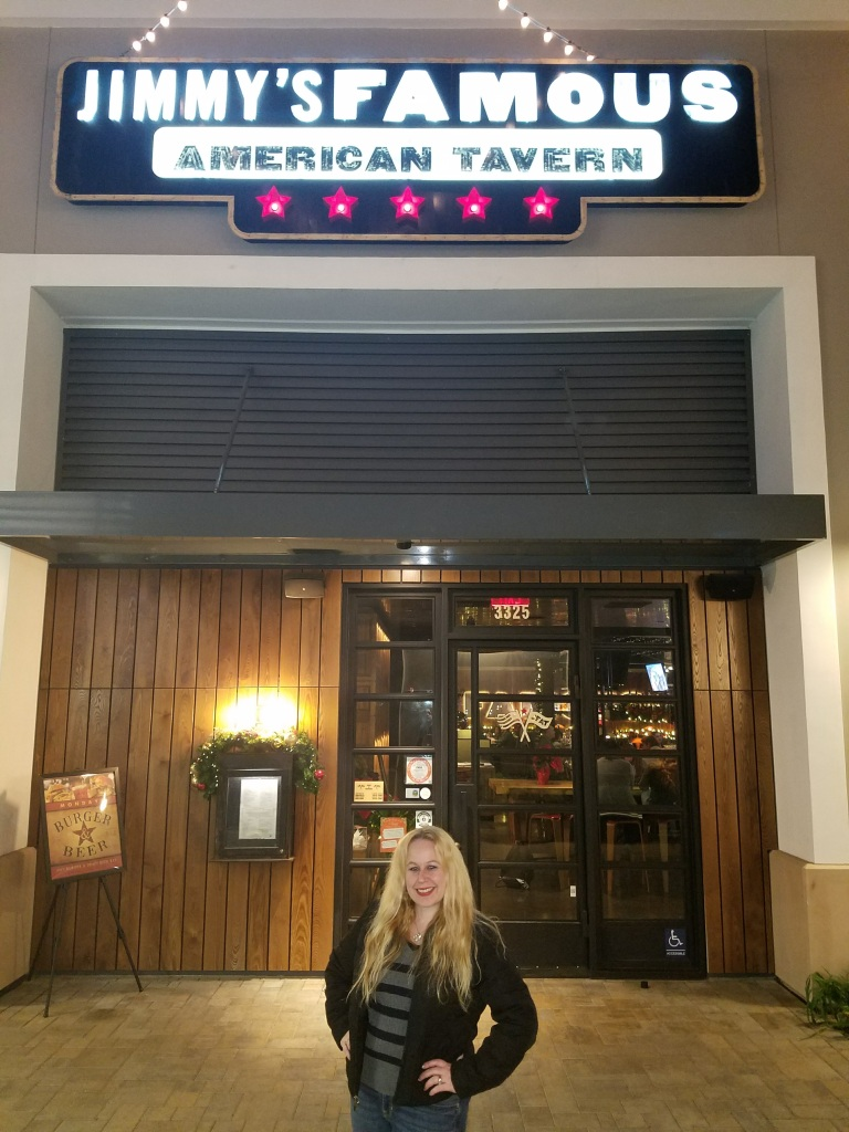 Dani at Jimmy's Famous American Tavern
