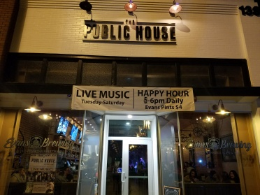 public house, downtown fullerton, evans brewery