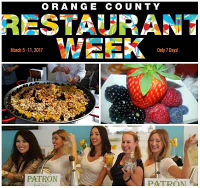 orange county restaurant week, orange county, oc restaurants