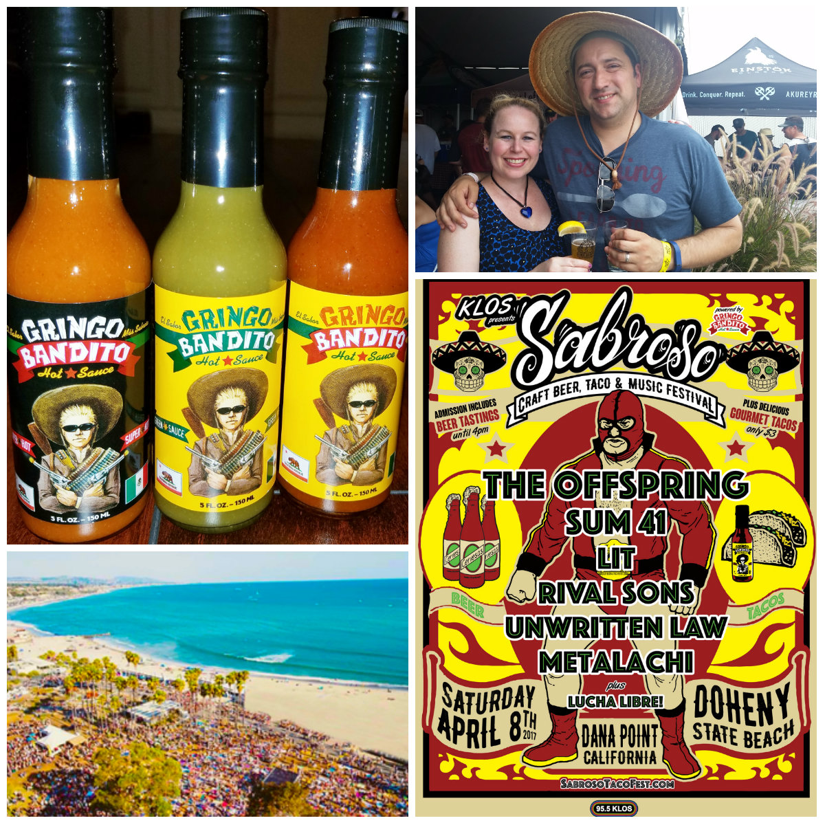 sabroso, craft beer, tacos, music festival, doheny state beach, dana point