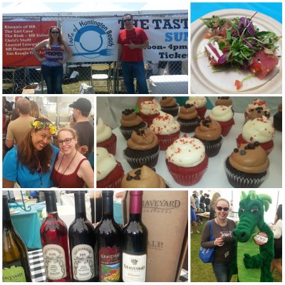 Taste of Huntington Beach, foodies, wine, beer, charity event