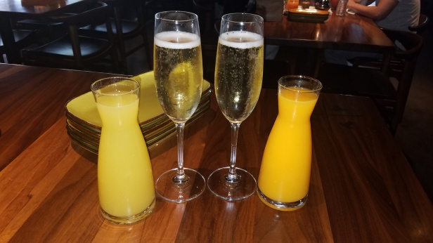 Mimosas for 2 - JFAT Brunch - Jimmy's Famous American Tavern