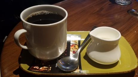 Delicious cup of coffee - JFAT Brunch - Jimmy's Famous American Tavern