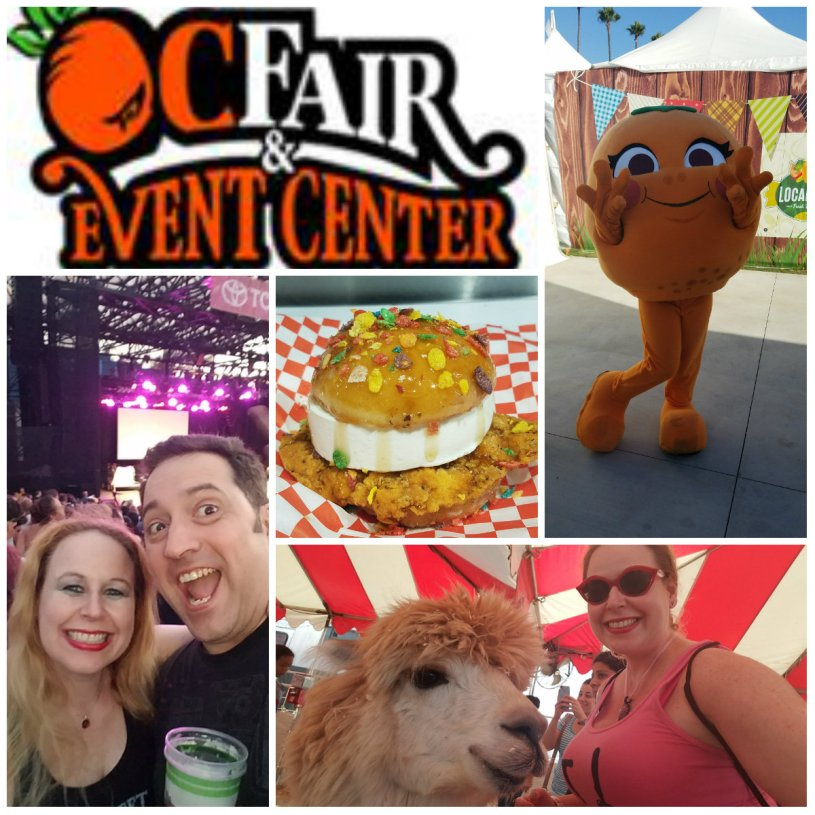 oc fair, fried food, petting zoo, county fair