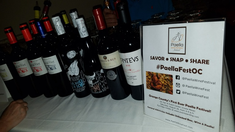 Awesome Spanish Wines at Vila Roma - Paella Wine and Beer Festival