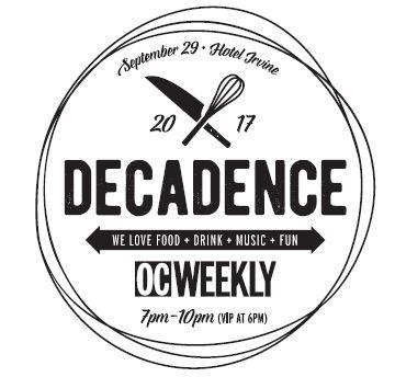 oc weekly decadence, oc weekly, orange county restaurants, foodies
