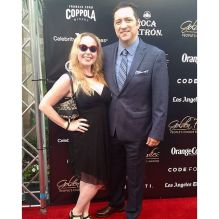 My love and I at the 2015 Golden Foodie Awards