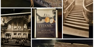 queen mary, titanic, titanic exhibit, long beach