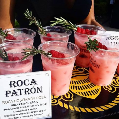 Roca Patron Cocktails - Golden Foodie Awards 2015