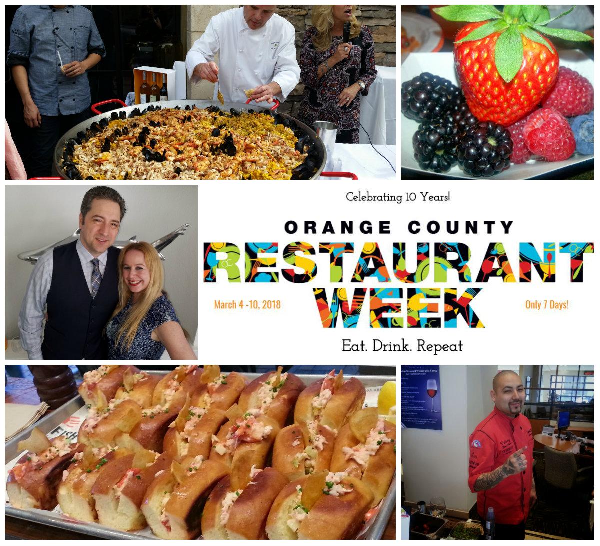 Orange County Restaurant Week Celebrates 10 Years March 4 10