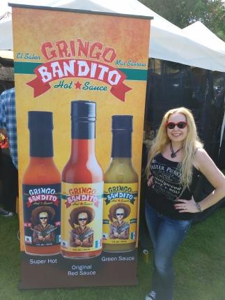 Gringo Bandito Sauce booth - Sabroso Taco Festival