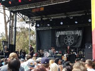 Unwritten Law - Sabroso Festival 2017