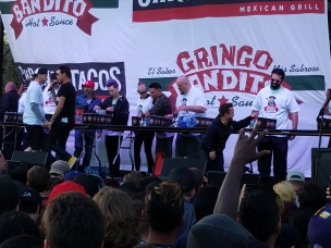 Taco Eating Contest - Sabroso Festival 2017