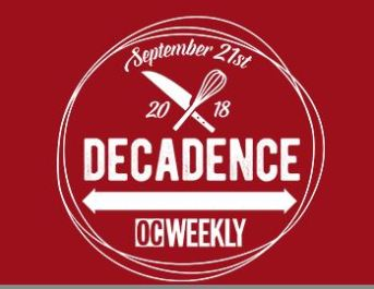 OC Weekly Decadence 2018