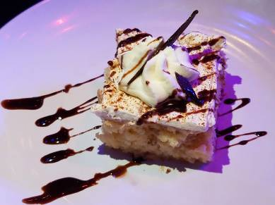 Dessert Coffee Sponge Cake - Teatro Martini, Buena Park