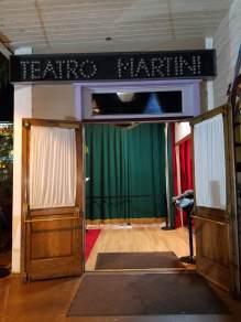 Entrance to Teatro Martini