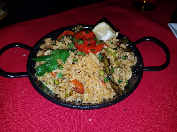 Spanish Chorizo Paella - Tapas Flavors of Spain Mission Viejo