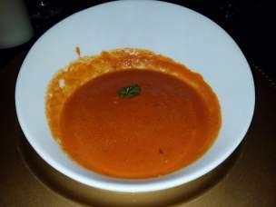 Tomato Bisque soup - Teatro Martini, Buena Park