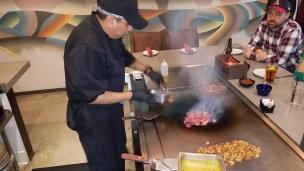Hard at work in the grill - A La Plancha style - Descanso, A Modern Taqueria (6)