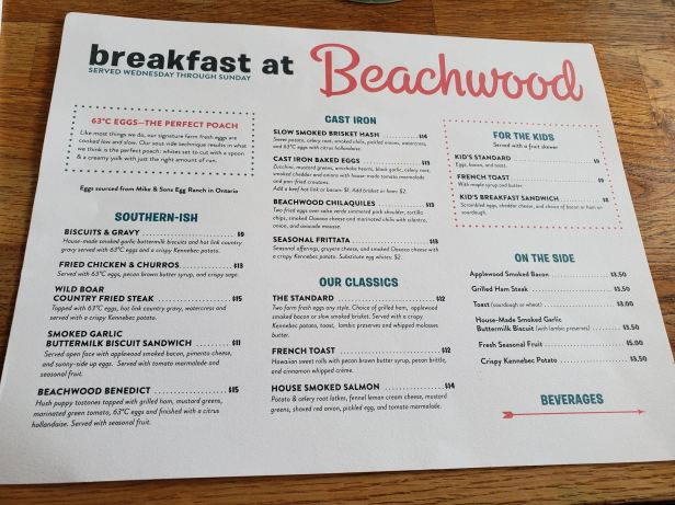Beachwood BBQ Seal Beach Breakfast Menu