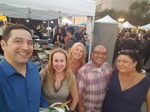 Hanging out with friends at Tastemakers 2018 (2)